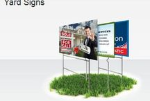 """Yard Signs / #Yard_Signs are printed in full color on rigid 4mm corrugated plastic and are available in sizes ranging from 12"""" x 12"""" to 48"""" x 46"""". With printing on either one or both sides, Yard Signs can be oriented in landscape or portrait. http://www.blackpineprinting.com/products/yard-signs"""