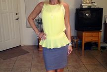 "Jules Actual Style  / These are actual outfits~done sometimes by ""selfies"" that I wear for work, kid's activities or going out. Let me know if you like.....or Re-pin. Thanks! ;) / by Julie Henderson"