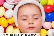 EASTER / ideas for crafts, recipes, literacy, numeracy and games to make learning ZING!