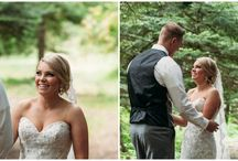 First Looks / The first look is a wedding trend that is here to stay - and we can't help but love it!