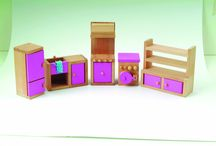 wooden furniture for dolls house