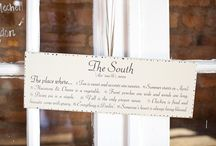 ✪ Southern Wedding Inspiration ✪ / by Ashley Turner {A Photo by Ashley}