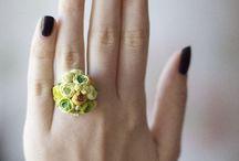 кольцо цветочное