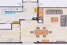 Raumplanung Handskizzen / Eine gute Planung ist die halbe Miete, ob 3D oder Handskizzen sind die Besprechungsgrundlage einer perfekten Raumplanung