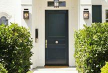 home decorating front door