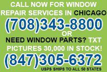 Window Repairs / Call Now 1-708-343-8800