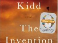 The Invention of Wings / Pins related to the book and the author