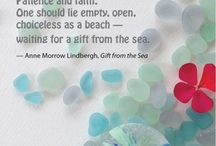 sea glass photos and quotes  / by Lisa Tomblin