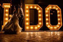 panou luminos nunta