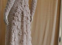 vestidos largos tejidos