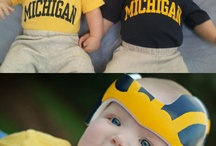 """Future Alumni / These kids have a great sense of style. These photos were featured in Michigan Alumnus Magazine as a special """"kids"""" edition of our """"Making Tracks"""" series."""