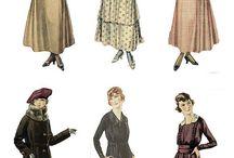 móda+oděv historie