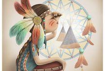 Ilustraciones para soñar / by conchi d