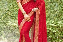 Collection Of Red Wedding Sarees / Presenting a picture perfect ethnic range of #wedding & #bridal #red #Sarees .From the classic to the contemporary we have them all. Take a look at www.panashindia.com