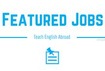 Featured Teaching Jobs Abroad on ESLexpat.com / Are you interested in teaching English abroad? Check out the new featured jobs on the ESL Expat Job Board. Visit ESLexpat.com and apply today.