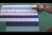 video postupy / rychlopostupy šití bloků