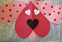 Hearts / Paper heart animals