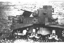 Light Tank M3 Stuart - Catturati