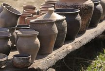 Ancient Cookware Ovens Claypots