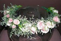 Lazos y coronas para boda / by Victoria Gere
