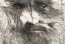 Leonard Baskin / Leonard Baskin (August 15, 1922 – June 3, 2000) was an American sculptor, book-illustrator, wood-engraver, printmaker, graphic artist, writer and teacher.