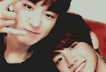 Chanyeol & baekhyun