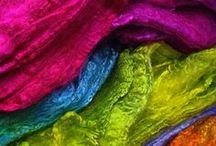 microwave silk dye