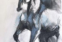 Equitation art
