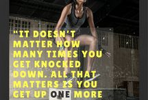 Fitness Motivation / Inspirational quotes and stories for your fitness health journey!