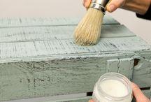 Pintar mueble de Madera