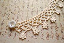bijuterias em crochet