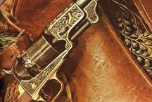 Guns westerns / The weapons.