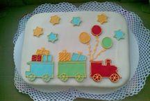 vonat és torta (train and cake)