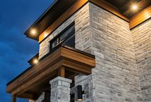 Contemporary & Classic style homes / Masonry projects featuring Rinox products.
