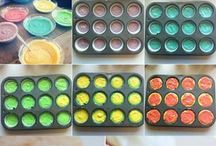 Regenbogenpancake