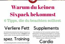 Sixpack/Healthy tipps