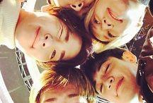 SHINEE / Lee Jin Ki . Kim Jong Hyun . Kim Ki Bum . Choi Min Ho . Lee Tae Min . #Onew #Jonghyun #Key #Minho #Taemin