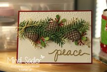 Christmas Pines / Stampin' Up! Christmas Pines Stamp Set, Pretty Pines Thinlits Dies