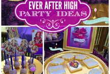 Ever After High Birthday Party / by Meagan Dillen