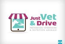 Logotype - Clinique vétérinaire / Quelques exemples de réalisations de logotypes pour des cliniques et groupements de cliniques vétérinaires