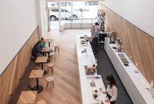 Cafe. / Cafe interior