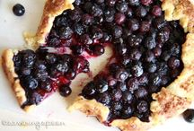 Pies and Galletes / Pies, Galletes, ooey gooey centers in flaky crusts.