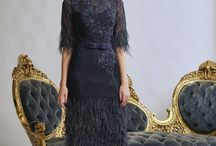 Gill Harvey London - Mother of the Bride Vintage Inspired Collection / The Gill Harvey 2018 Collection is vintage inspired beaded dresses and softer fabrication two pieces that ooze elegance, sophistication and glamour, perfect for mother of the bride.