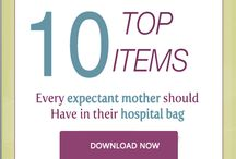 Hospital Bag Checklist for Mom-to-be / Here is a list of items you wouldn't want to be without on your delivery day! You can also get your Free Hospital Checklist Emailed to you at: http://www.dressedtodeliver.com/dressed-to-delivers-nurturingmom-program