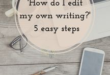 Editing/rewriting your book / Tips on editing/rewriting your book.