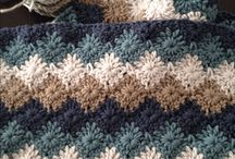 Knitting and crochet -  Dreams and lessons / I have just discovered the pure joy of knitting and watching pieces of warm clothing appear under your very fingers! A relaxing way to deal with a stressful, overworked schedule and another creative ooutlook on things....