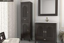 Mezquita / Este mueble de baño único está inspirado en nuestra historia, líneas árabes que han perdurado a lo largo de los años. Un modelo clásico, elegante y funcional con estilo exclusivo, que permite crear un ambiente único.