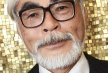 Hayao Miyazaki / Do you know Hayao Miyazaki? He is a Japanese cartoonist that really popular. In America, their Hayao Myazaki is Walt Disney, huh?