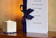 Wedding: Invitations, menu cards, etc
