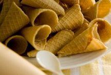 Receta casera de Conos de Waffle